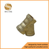 """Filtro de cobre amarillo con """" talla de la cuerda de rosca femenina de la pulgada Dn50 2"""