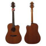 Aiersiのブランド41インチの合板のマホガニーボディアコースティックギターSg01mm