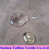 Microfiber Veloursleder mit zusammengesetztem Ineinander greifen für Sofa-Gewebe