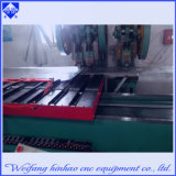 Punzonadora solar del CNC del calentador de agua de la alta calidad con la plataforma que introduce