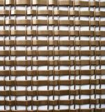 Maille architecturale tissée par tresse