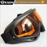 オレンジEyewear 400の戦術的なスキーオートバイの防護眼鏡