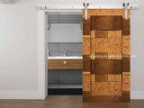 Acessórios de madeira da porta do aço inoxidável da alta qualidade