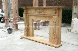 Камин домашнего украшения дешевый мраморный (SY-MF139)