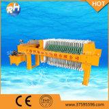 Machine de filtre-presse de plaque de fer de moulage et de bâti