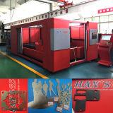 tagliatrice del laser del metallo della fibra del piatto 1000W-500W per l'acciaio inossidabile di taglio