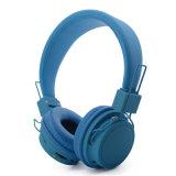 Hoofdtelefoon van Bluetooth van de Hoofdband van de Kleur van het Embleem van Customizd de Zuivere