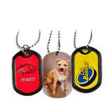 Tag feito sob encomenda do metal dos Tag de cão da cor cheia para a promoção