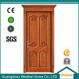 Porte en bois solide intérieure de qualité pour des Chambres