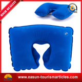 접을 수 있는 팽창식 U 모양 비행기 여행 목 베개를 주문 설계하십시오
