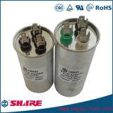 Capacitor de funcionamento duplo Cbb65 do motor de C.A. do condicionador de ar da C.A. com caso de alumínio