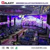 Di alluminio visualizzazione di parete dell'interno dell'affitto LED di colore completo della pressofusione la video per uso della fase