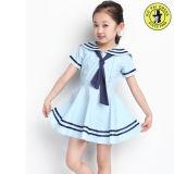 着色されたカスタマイズされた女の子の夏季学校の正装の製造者