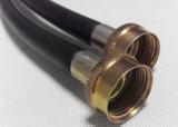 """3/8 """" ensemble de tuyau de machine à laver en caoutchouc de 6FT avec des garnitures de Fht pour le marché des États-Unis"""