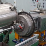 Pelletiseermachine van de Uitdrijving van de Ring van het water de Plastic voor de Vuller Masterbatch van Blak van de Koolstof