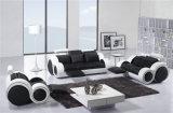 Les meilleurs sofas de cuir de qualité de meubles à la maison de modèle