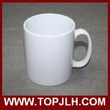 Чашки белизны фарфора 11oz пробела печатание Customed Coated