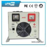 Invertitore di monofase 12/24/48 di VCC a 220VAC con il caricabatteria
