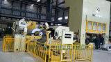 Alimentador automático de la hoja de la bobina con la enderezadora y uso de Uncoiler en línea de la prensa