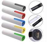 Pen Shape 2300mAh cadeau rechargeable Power Bank avec 18560 Batterie au lithium