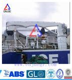 Grelha offshore 50t semi-dobrável com guindaste Kunckle Boom