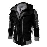 Куртки застежки -молнии ворота новых людей способа тонкие (A509)