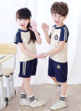 Uniforme mignon de PE d'école, logo privé d'uniformes scolaires