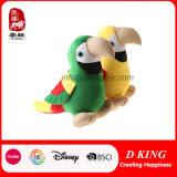 최신 판매 박제 동물 다채로운 새 연약한 장난감 견면 벨벳 앵무새