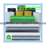 Película rígida azul do PVC para a embalagem farmacêutica/droga, película dura para o vácuo