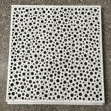 Потолка металла украшения ая материалом панель алюминиевого Perforated с ценой по прейскуранту завода-изготовителя