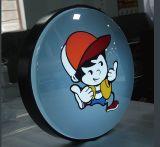Neuer mehrfacher Speicher! Kundenspezifisches Speicher-Vorderseite-Doppelt-Seite ABS LED heller Kasten-Zeichen