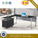 Mesa de escritório de madeira nova da mobília de escritório do metal com gavetas (NS-GD005)
