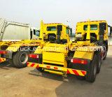 camion di elevatore dell'amo 10-18cbm, camion di immondizia del hooklift