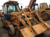 Cassa usata 580L del caricatore dell'escavatore a cucchiaia rovescia di caso da vendere