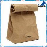 Sacchetto promozionale bianco del Kraft dei sacchetti di acquisto di /Brown Kraft del sacchetto del regalo della carta kraft
