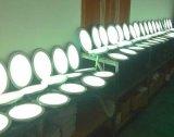 la cubierta de cristal cuadrada de Downlight del panel de 12W 18W LED enciende brillante las lámparas ahuecadas alto techo 220V 230V 240V