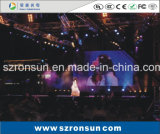 P4.81mm 500X1000mm Alumínio Die-Casting Cabinet Stage Rental Interior LED Screen