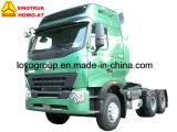 Sinotruk HOWO-A7 290-420HP 6X4のトラクターのトラック