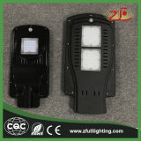 20W indicatore luminoso di via alimentato solare High-Efficiency di energia LED