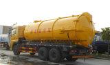 6X4真空の下水道16000Lの真空の下水の吸引のトラック