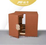 Yellow Rock Grain Color Rectangle Mdf Perfume Box