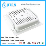 lámpara para las gasolineras, dispositivo de 150W IP65 LED de iluminación del pabellón para IP65 al aire libre