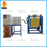 máquina de fusión de la inducción 50kg~150kg para el aluminio de acero del oro del hierro