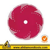 Турбо отрезной алмазный диск по металлу на термической опрессовке