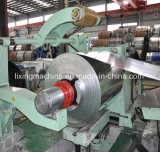 Placa de aço inteiramente automática que corta a linha máquina