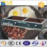 Edelstahl 304, der Handelsinduktions-Kocher unterbringt