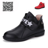 Ботинок Ktkd-396 звезды кожаный
