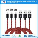 Telefon-Zubehör 2.1A USB-Aufladeeinheits-Kabel