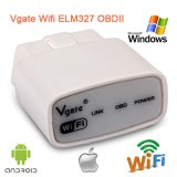 Превосходный читатель OBD2 кодера диагностического инструмента автомобиля качества и умеренной цены Elm327 V1.5 WiFi OBD2