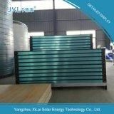 Collecteur de chauffage à eau solaire à plaque plate en chrome noir